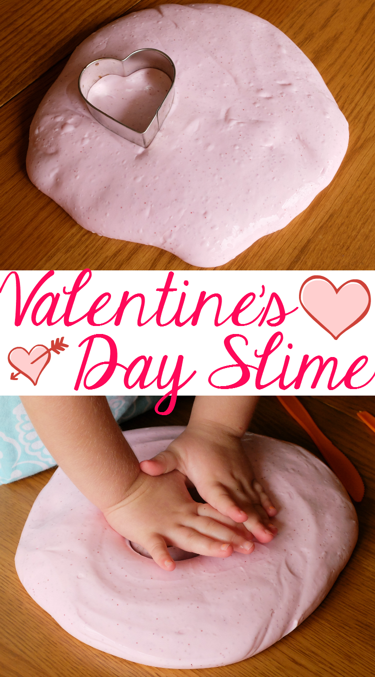 Sweet Turtle Soup - How to Make Pink Glittery Valentine's Day Slime