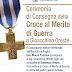 Esercito. Sabato mattina la cerimonia di consegna della Croce al Merito di Guerra a Gioacchino Oreste