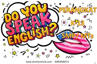 Silabus, RPP, Prota, Prosem Kurikulum 2013 Revisi 2017 Bahasa Inggris Kelas 8/VIII Semester 1 dan 2 SMP/ MTs