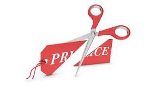 menurunkan harga untuk menarik pelanggan
