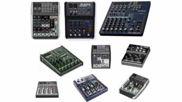 Harga Mixer Audio Murah 4 Hingga 12 CH