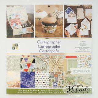 DCWV Cartographer Stack Card Melinda Beltran