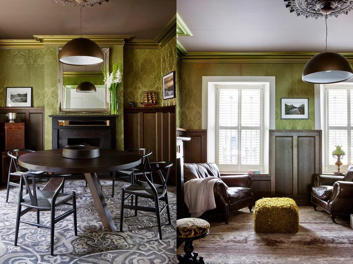 Rehabilitacin de una casa antigua con aspecto moderno en