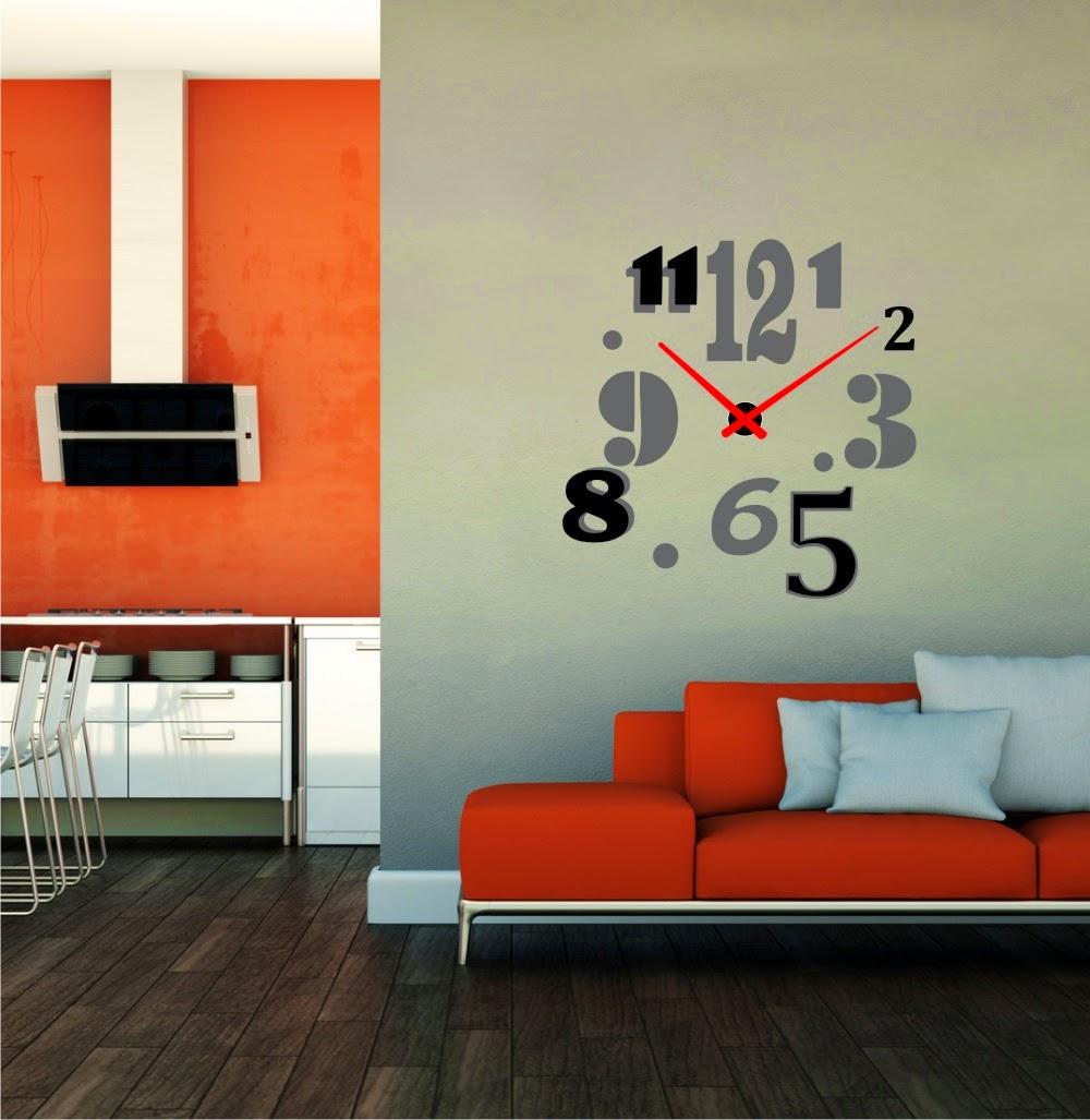 Relojesyvinilos - Reloj vinilo decorativo ...