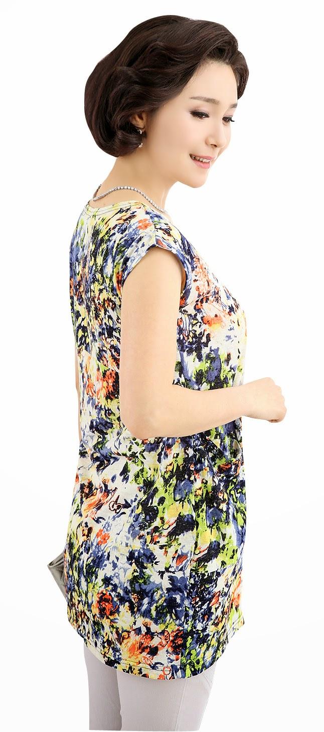 Middle-Agedolder Womens Fashion Clothing Apparel-7540