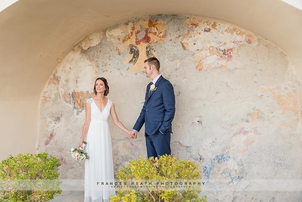 Hotel Convento wedding portrait