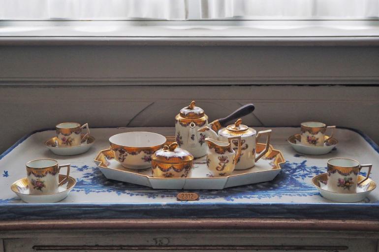 Vaisselle au château de Rosenborg à Copenhague