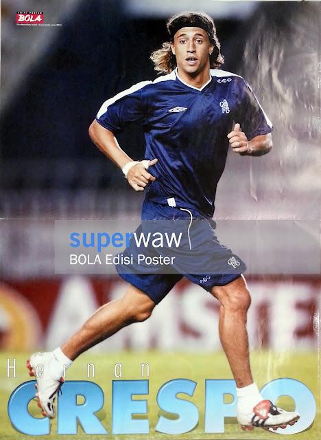 Poster Hernan Crespo (Chelsea)