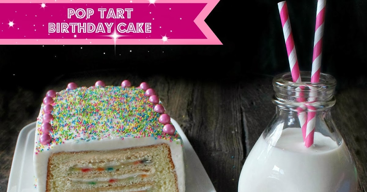 Pop Tart Birthday Cake