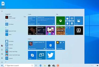 Menu Start Baru Windows 10