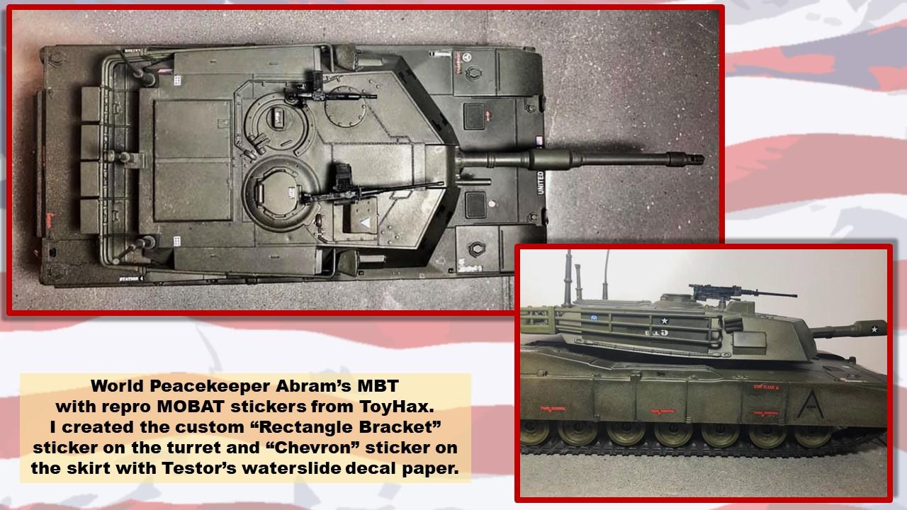 looks authentic Mobat replacement turret