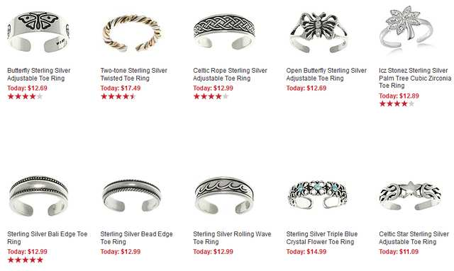 Jewelry weblog for Types of body jewelry rings