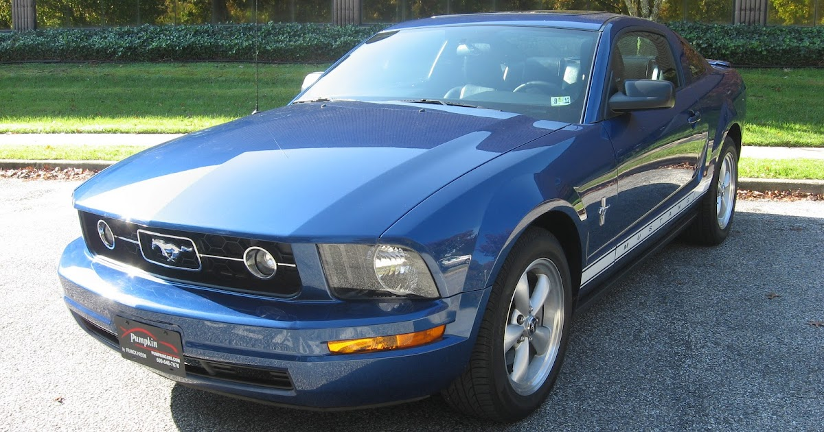 Ford Mustang Lease >> Pumpkin Fine Cars and Exotics: 2007 FORD MUSTANG V6 PONY PCKG NEW PRICE !!!! $13,495