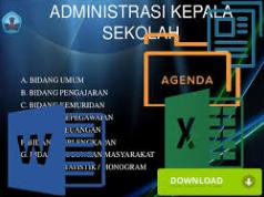 Agenda Rapat Buku Notulen Kepala Sekolah 2017/2018