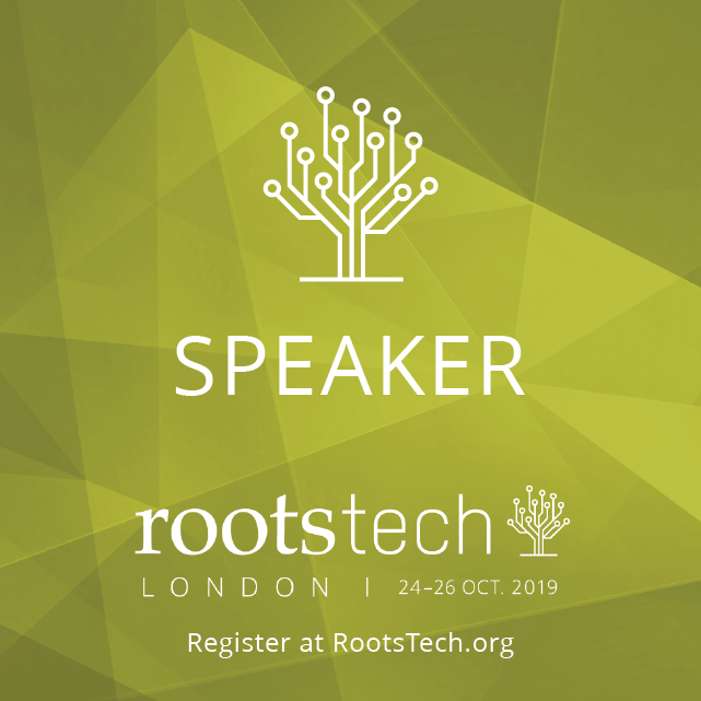 RootsTech London Speaker