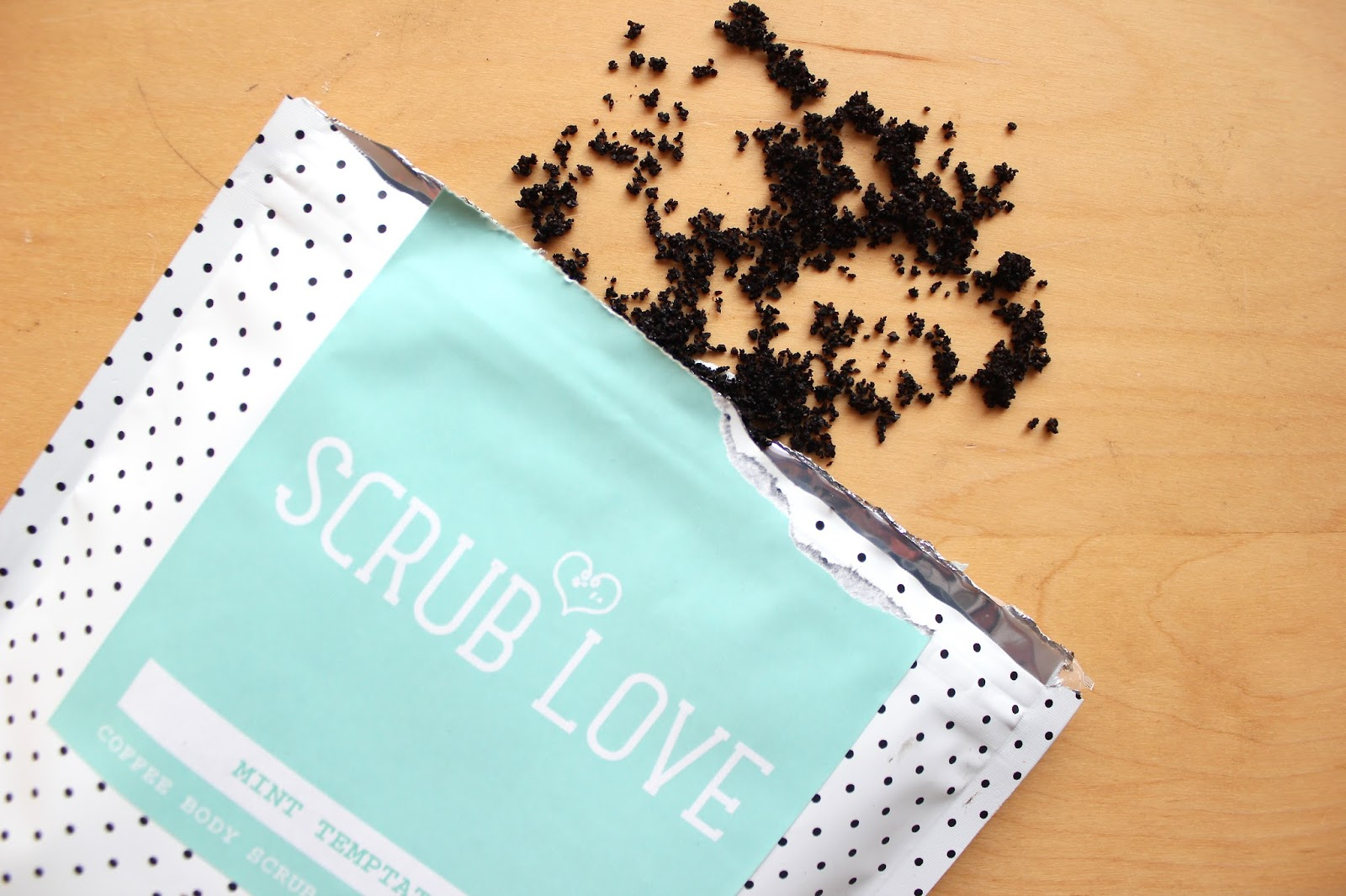 Trying Coffee Scrubs