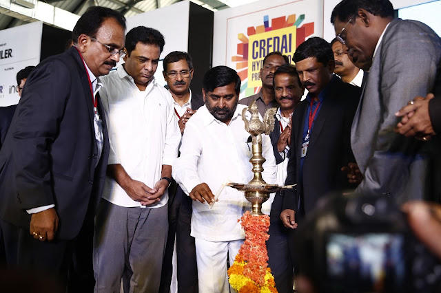 Inauguration at CREDAI Hyderabad Property Show