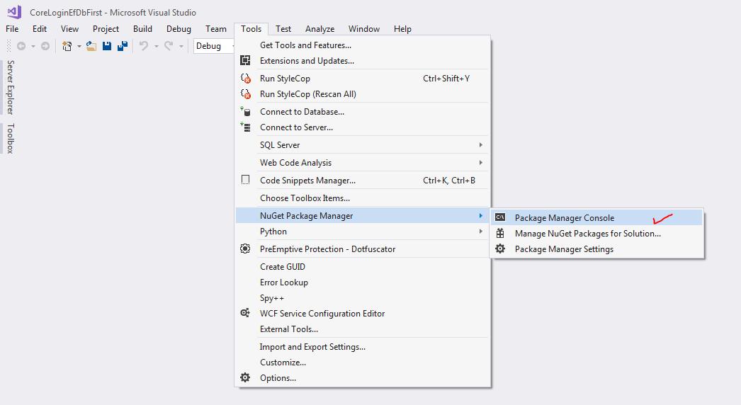 ASP NET Core Razor Pages: Simple Login using Entity