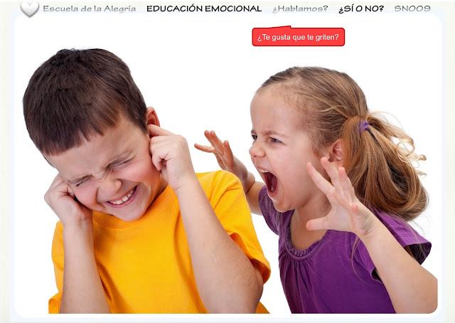 Educar la Inteligencia Emocional: los gritos
