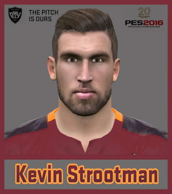 PES 2016 Strootman Face 2016