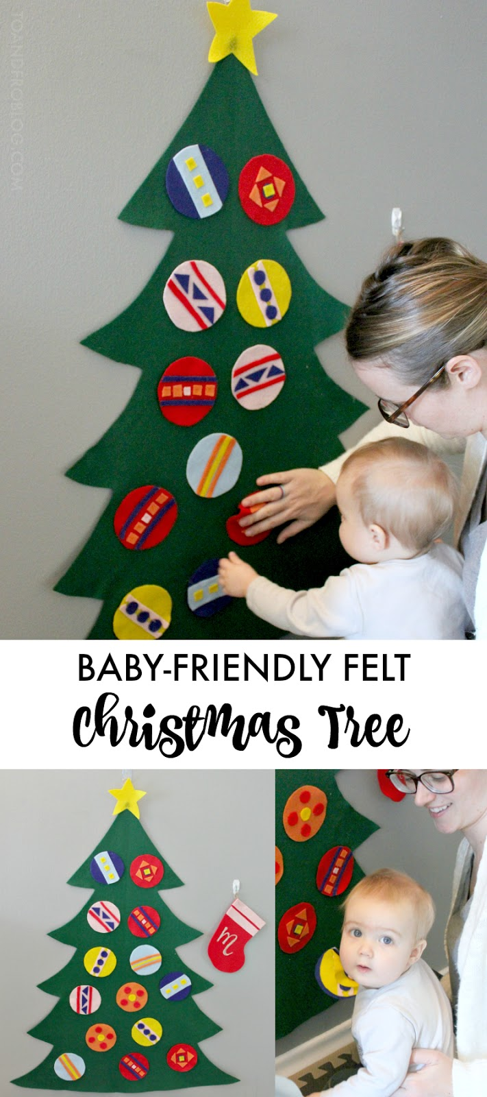 Baby-Friendly Felt Christmas Tree Tutorial
