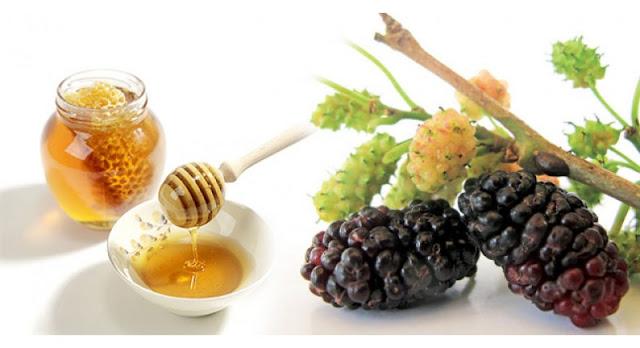 Thay đổi da thịt bằng việc kết hợp mật ong và lá dâu tằm