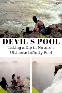 Devil's Pool Victoria Falls | Taking A Dip Into The Devil's Pool