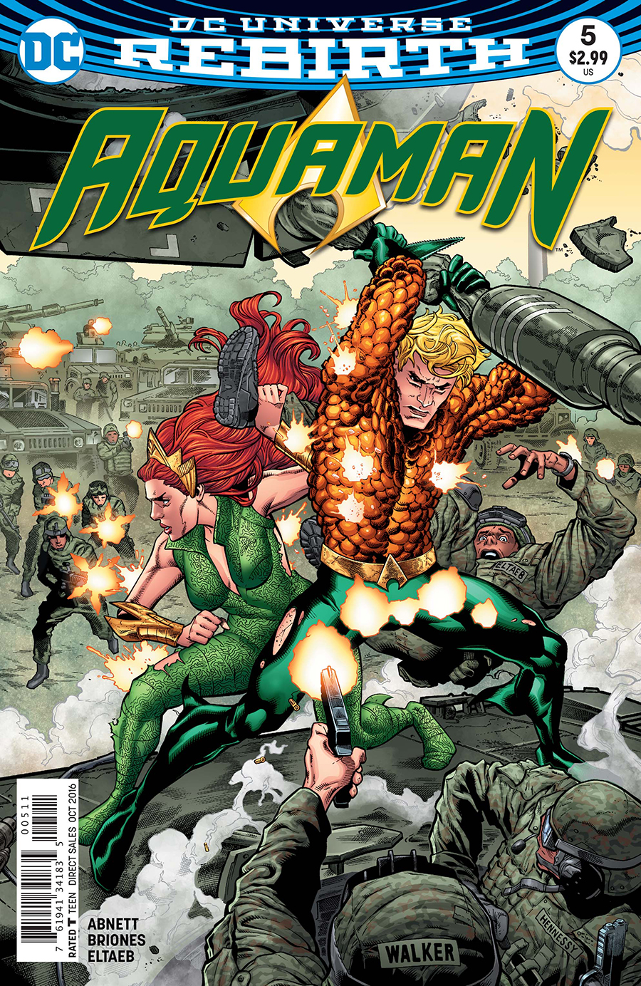 Preview: 'aquaman' # 5 By Dan Abnett, Philippe Briones, And Gabe Eltaeb