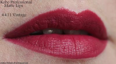 Kobo Matte Lips 411 Vintage