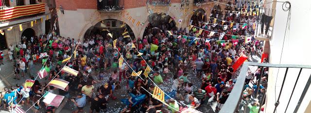 chupinazo asociación empresarial alcorisa fiestas mayores 2016
