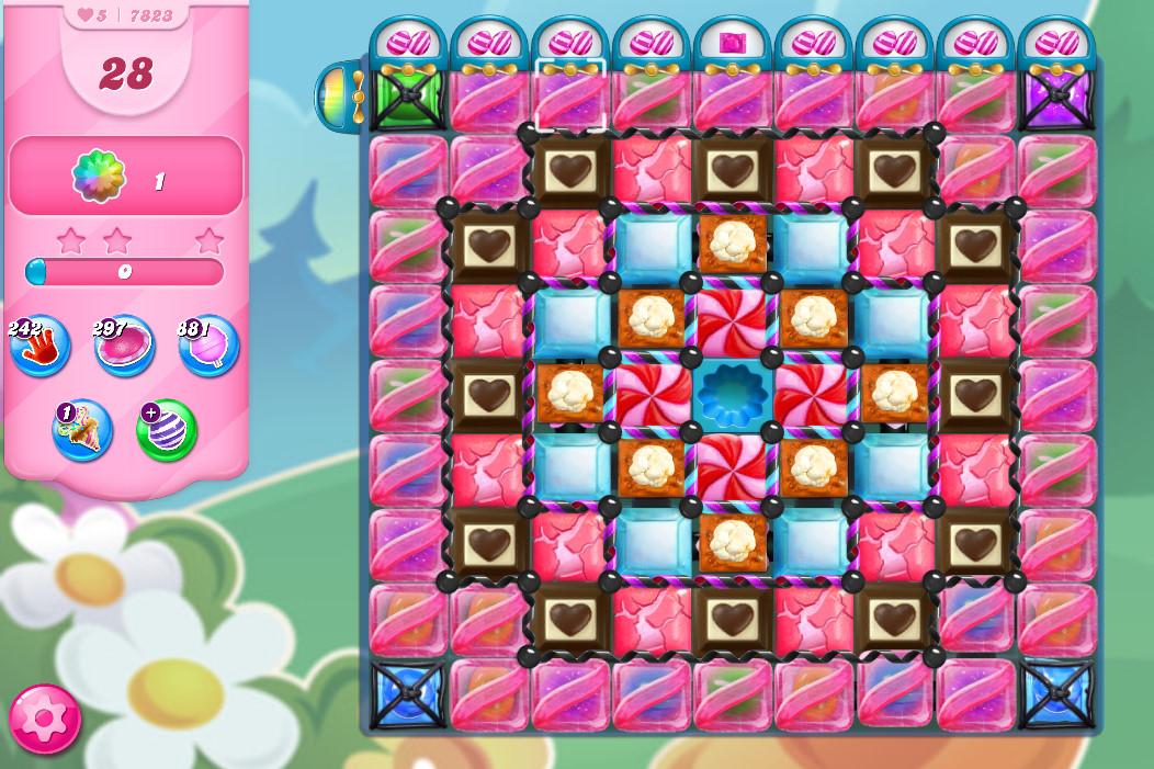 Candy Crush Saga level 7823