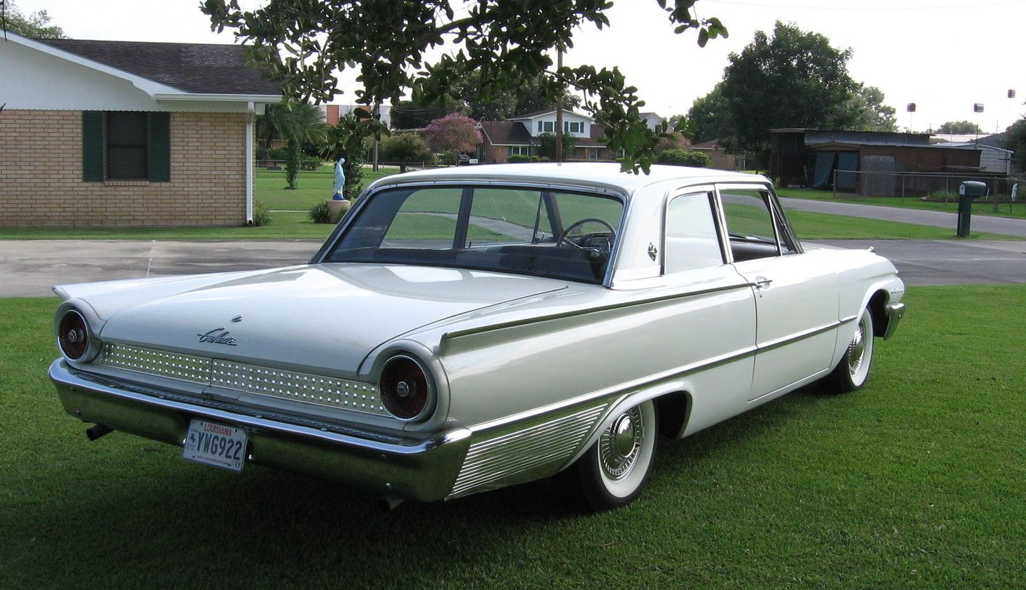4 Door Corvette >> All American Classic Cars: 1961 Ford Galaxie 2-Door Club Sedan