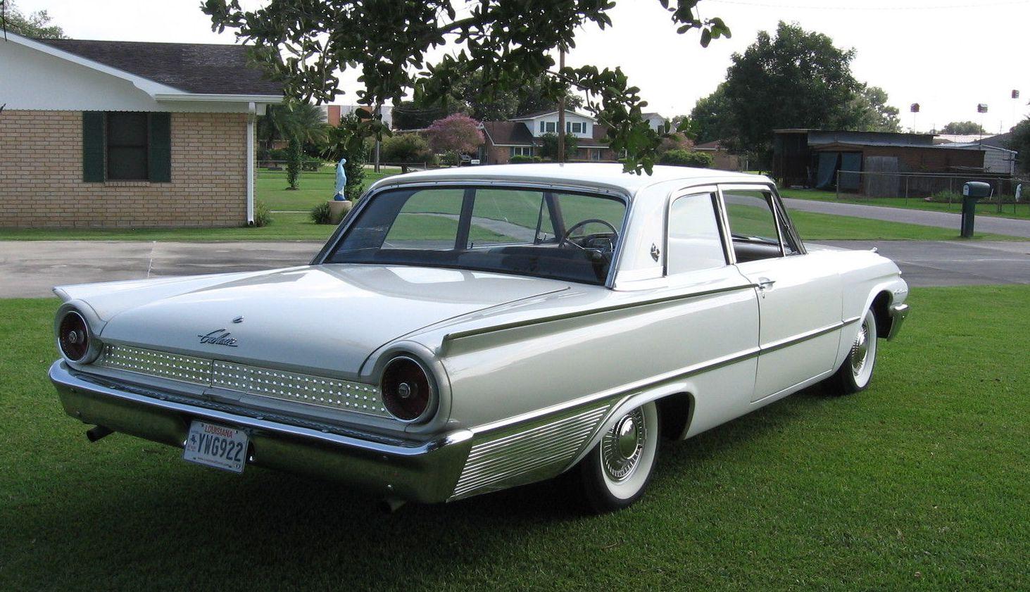 all american classic cars 1961 ford galaxie 2 door club sedan. Black Bedroom Furniture Sets. Home Design Ideas
