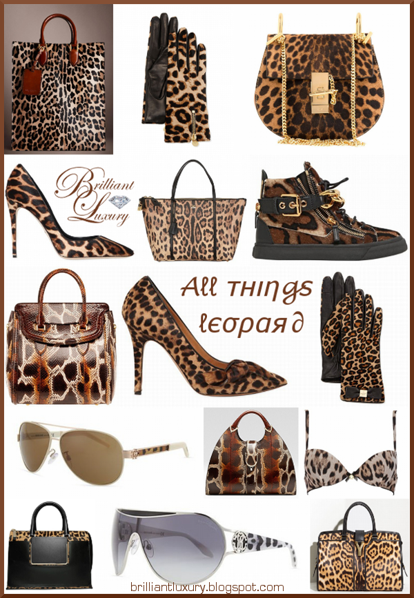 Brilliant Luxury ♦ All Things Leopard