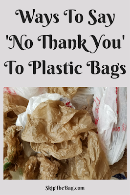 Ways to refuse plastic bags.