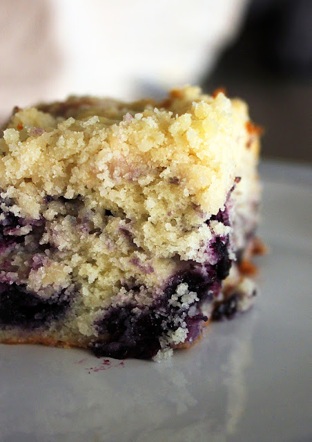 Recipe for Blueberry Coffee Cake by freshfromthe.com.