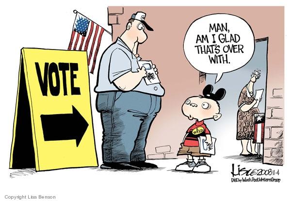 Presumptuous Politics Voter Fraud Cartoons