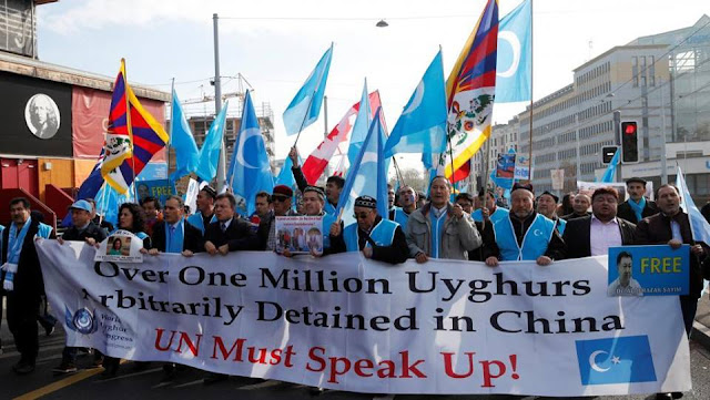 Trung Quốc hứng bão tại LHQ vì giam giữ cả triệu người Duy Ngô Nhĩ