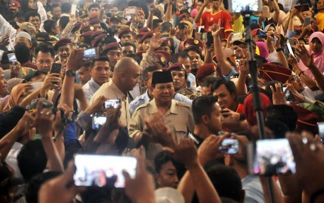 Gandeng Tangan se-Indonesia demi Prabowo-Sandi
