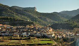 Beceite, Beseit, pueblo, montañas, poble, montañes, ports