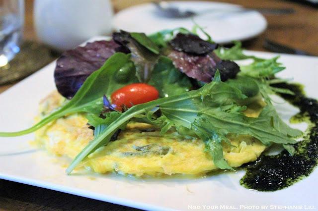 Japanese Omelette at Rabbit House in New York City