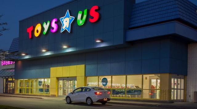 Loja de brinquedos Toys R Us em Miami