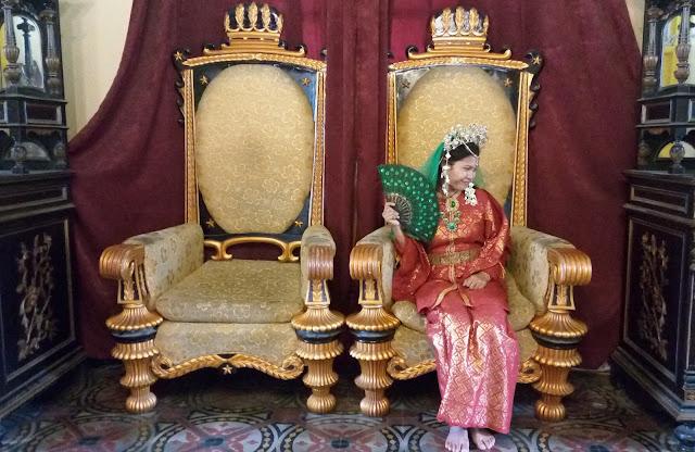 Balairung Wisata Istana Maimun Sumatera Utara