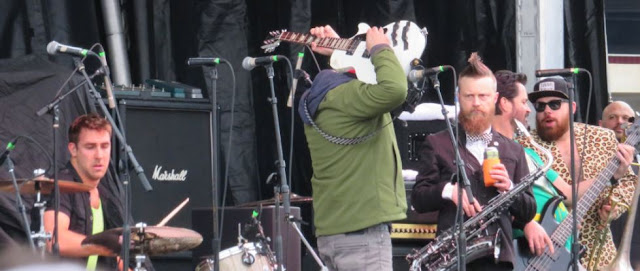 Reel Big Fish performing at Shamrockfest