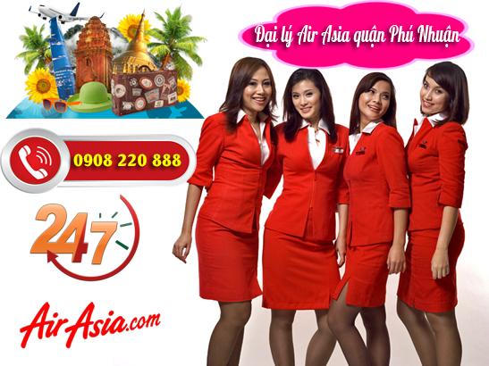 Đại lý Air Asia quận Phú Nhuận