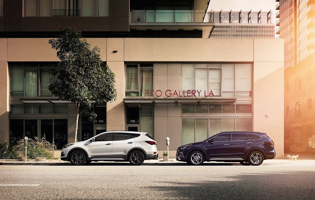 2017 Hyundai Santa Fe and Santa Fe Sport