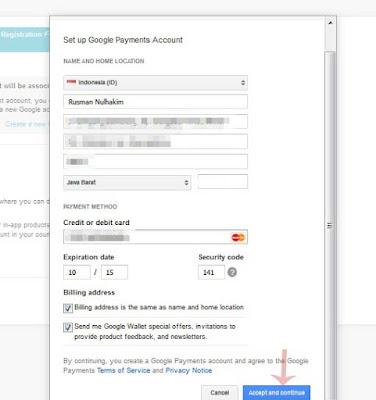 Cara Mendaftar Akun Google Develover Console / Playstore Tanpa Kartu Kredit