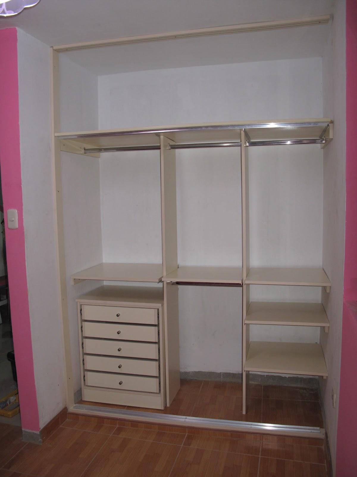 closet economico closet sencillo y econmico closet
