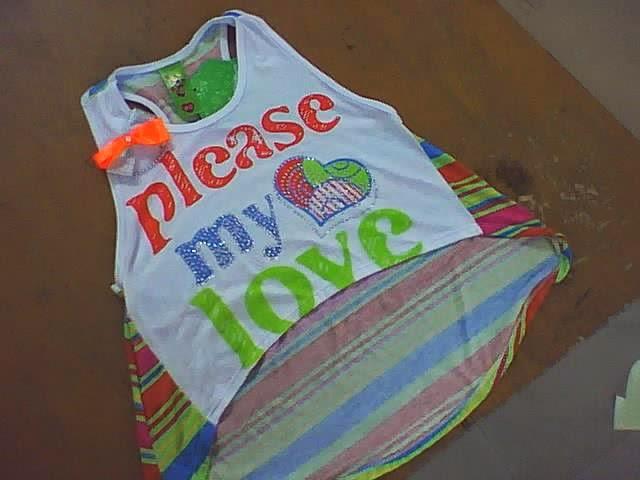 blusa para niñas amplia manga sisa