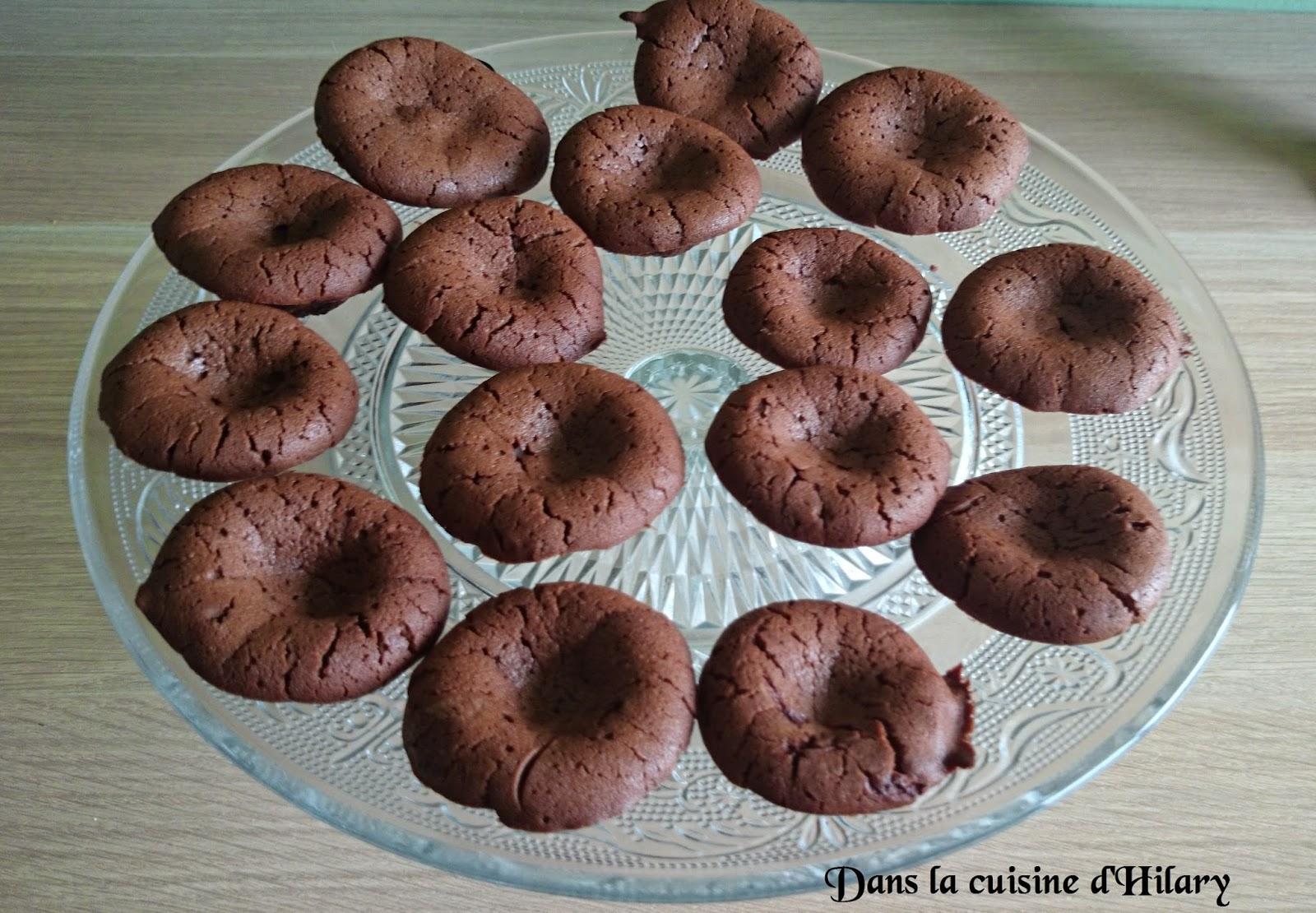 Moelleux au chocolat et beurre de cacahuètes